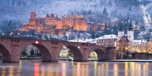 Heidelberg in winter months
